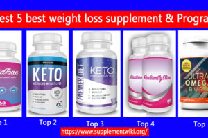 Best 5 best weight loss supplement & Programs