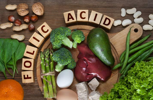 folic acid sources and benefits